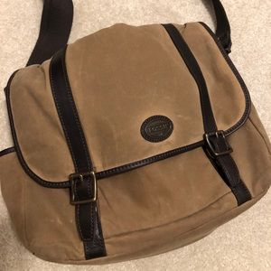 Fossil Lap Top/Messenger Bag